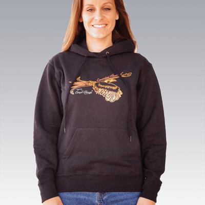 Canarian firebird hoody ladys