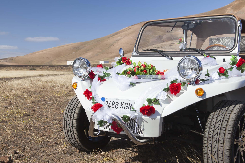 Vintage Hochzeits Beach Buggy